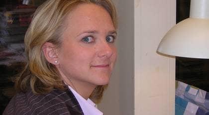 Volontärbyråns grundare Amelie Silfverstolpe. Foto: VOLONTÄRBYRÅN