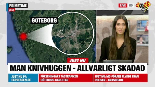 En person svårt skadad i knivattack i Gamlestaden i Göteborg