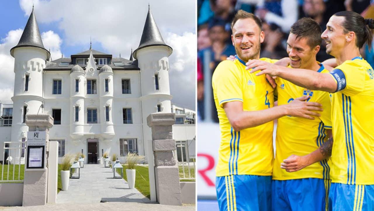 Fotbolls-EM 2016 – så lyxigt bor landslaget i Frankrike  8b47a41fd65bf