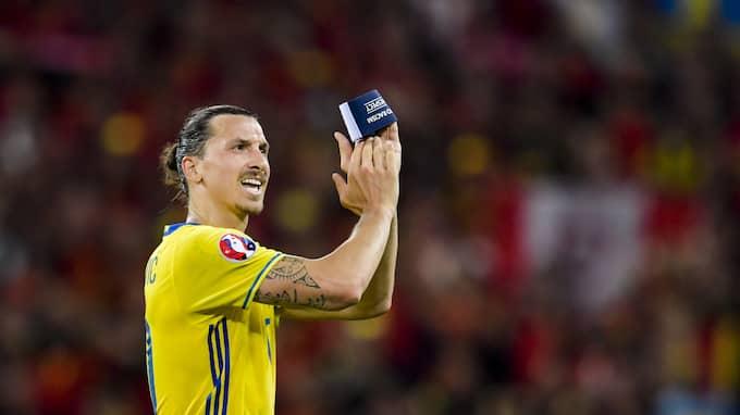 Spelar Zlatan Ibrahimovic VM. Foto: JOEL MARKLUND / BILDBYRÅN