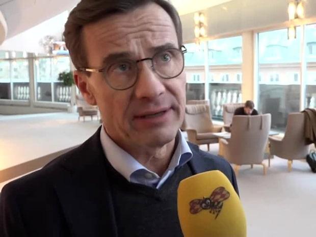 """Ulf Kristersson om SD-mötet: """"Hög tid"""""""
