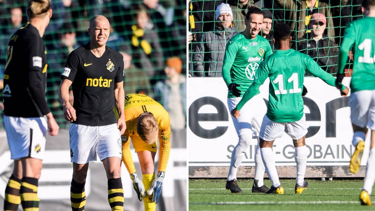 AIK chockades av Jönköping Södra