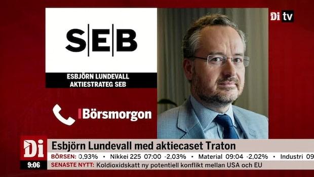 Esbjörn Lundevall om veckans aktiecase