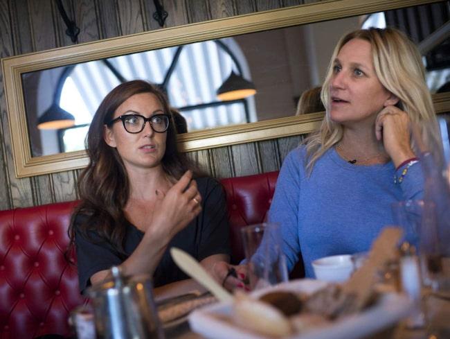 Ständiga samtal.Sanna och Ann fann varandra i sina erfarenheter kring medberoende. Nu delar de med sig och vill öppna upp för samtal i ett ämne som kantas av tabun:<br>– Bara att samtala med folk som varit i samma situation är som att lyfta på ett lock.