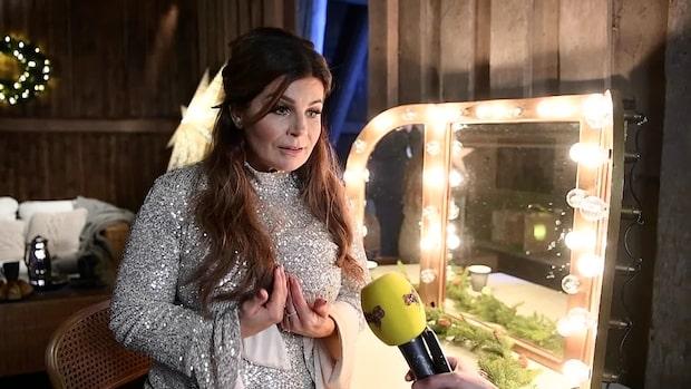 Carola spelar in eget julprogram – får snöflinga i halsen