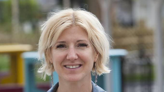 Katarina Warnström, ansvarig för PR och sociala medier på Liseberg. Foto: PHOTOGRAPHER: STEFAN KARLBERG