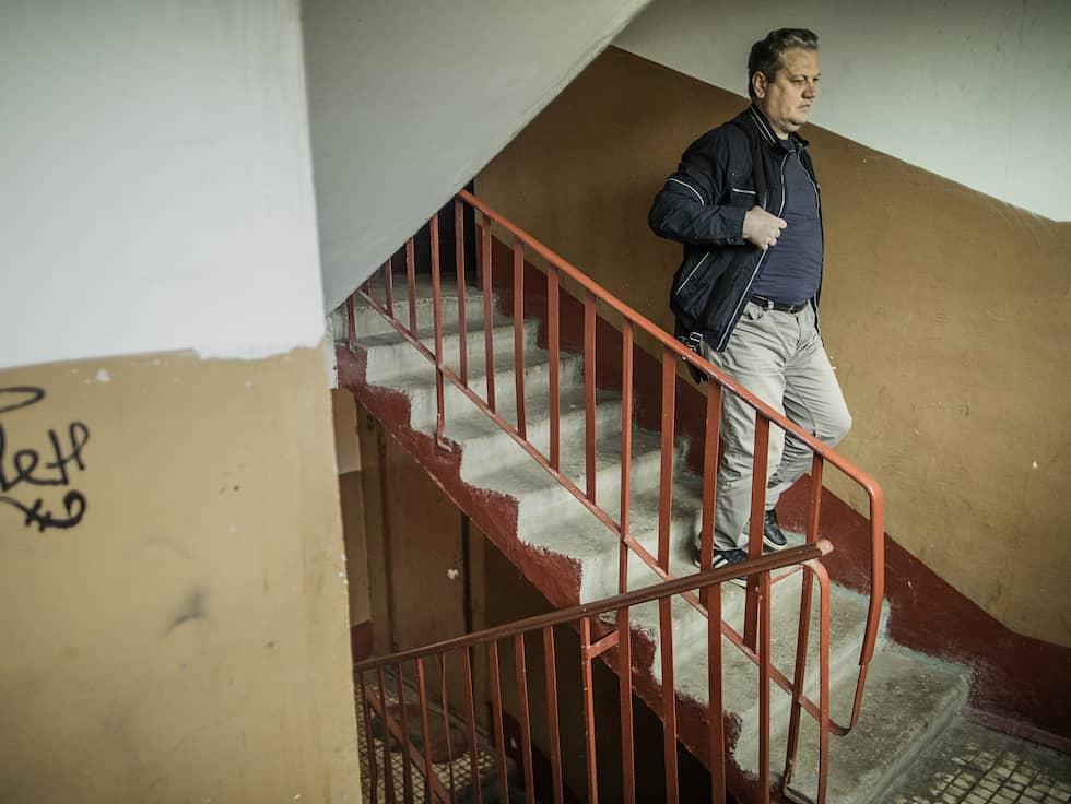 Det var här Stanislav Petrov levde som pensionär. Foto: Axel Öberg