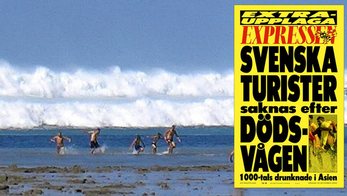 Dödens våg tog 543 svenska liv