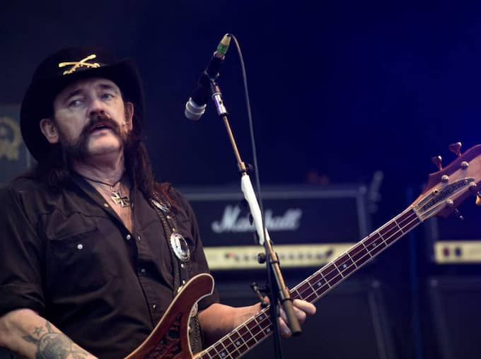 Lemmy Kilminster avled i cancer. Foto: Ludvig Thunman