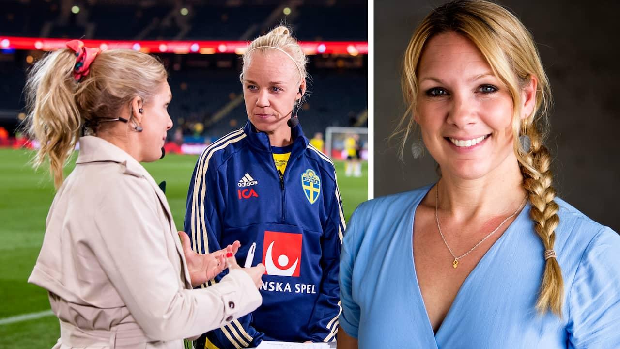 """9f91c49d Fotbolls-VM 2019: Anna Brolin om Fifas regler: """"Det är absurt"""""""