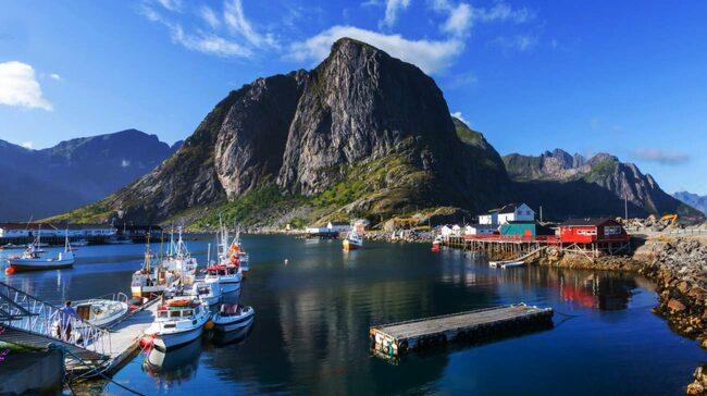 <span>Norge hamnar i topp.</span>