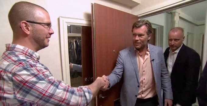 I veckans avsnitt beger sig programledarna till Helsingborg och ett av de mest skuldsatta fallen i programmets historia: lagerjobbar Petr, 38. Foto: TV3