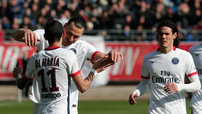Angel di Maria var tidigare lagkamrat med Zlatan Ibrahimovic. Foto: THIBAULT CAMUS / AP TT NYHETSBYRÅN