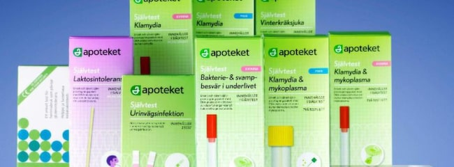 test för laktosintolerans apoteket