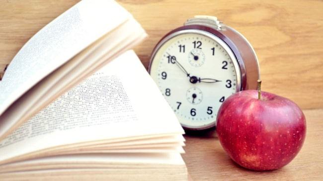<span>Ha koll på klockan när du pluggar! Efter 90 minuter kan du inte längre hålla koncentrationen.</span>