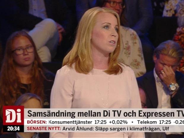 Lööf (C): Åkessons retorik låter som Donald Trump