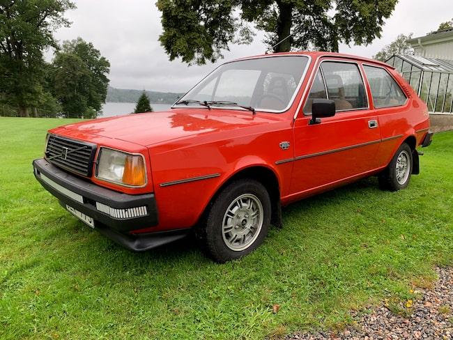 Är en av få Volvo 343 som finns kvar.