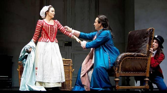 Figaros Brölopp. Mozarts 250 år gamla opera Figaros Bröllop hade premiär i Malmö på lördagen. Foto: Malmö opera