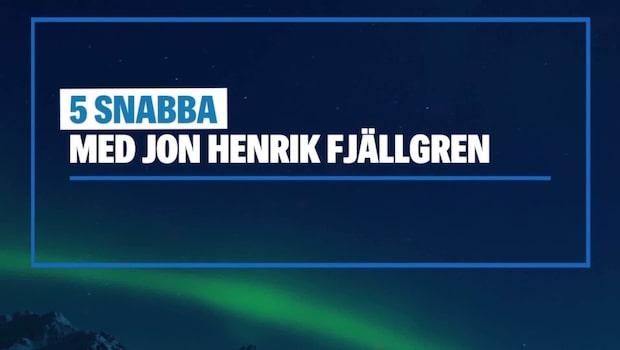 Visste du detta om Jon Henrik Fjällgren?