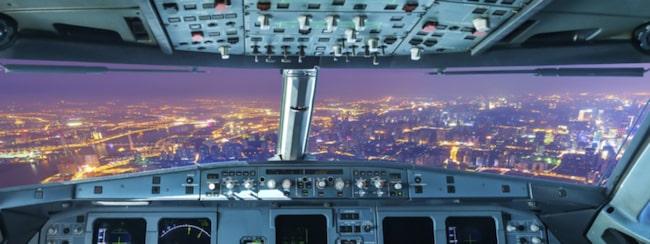 Appen funktion gör att det känns som att du sitter bredvid piloten.