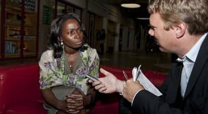 Tar avstånd. Integrationsminister Nyamko Sabuni tog i går avstånd från Henrik Emilssons åsikter. Foto: Anna-Lena Mattsson