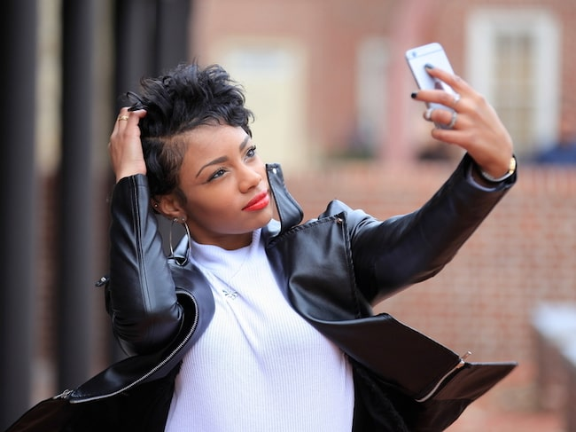 Tar du selfies på nära håll? Då ser din näsa större ut än i verkligheten.