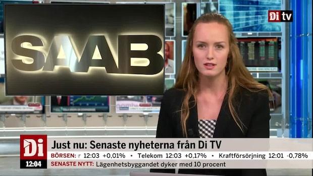 Di Nyheter: Saab tar order från Förenade Arabemiraten – potentiellt värde 10 miljarder