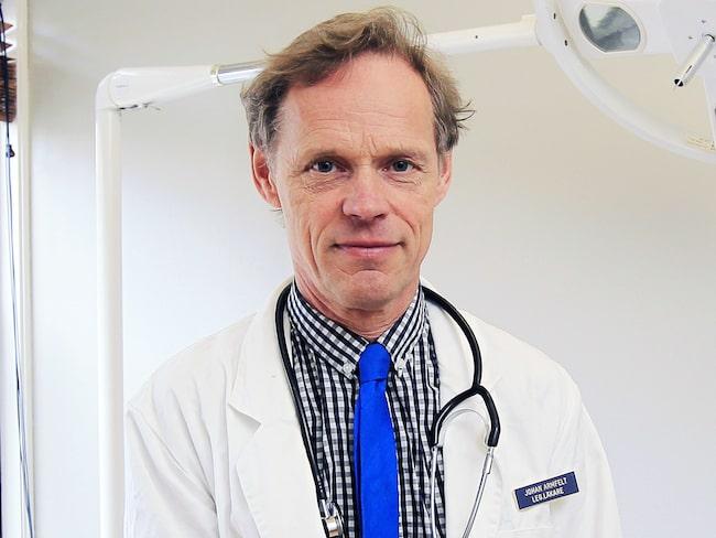 Läkaren Johan Armfelt.
