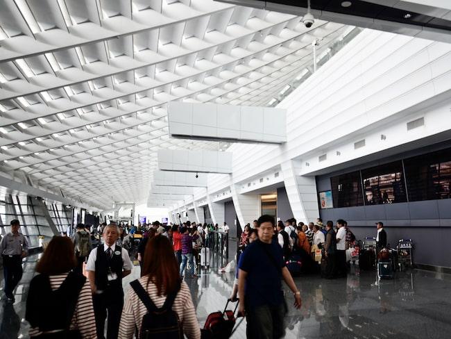 I det nya passet hade man tänkt sig en avbildning av Taoyuan International Airport.