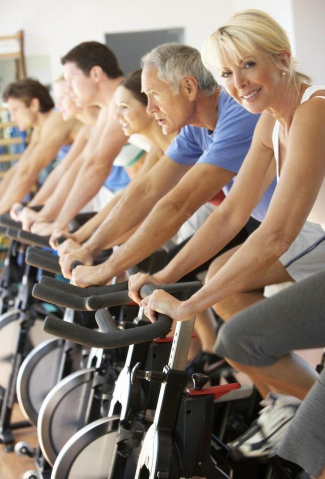 Tabata innebär att man utövar en pulshöjande övning som cykling, löpning eller roddmaskin.