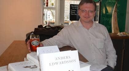 En annorlunda historia. Anders Edwardsson går till storms mot socialdemokratiskt färgad historiebeskrivning. Foto: Peter J Olsson