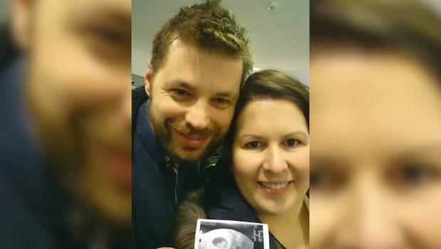 """Solfrid, 31, om att förlora sitt barn: """"Jag kräktes rakt ut av chocken"""""""