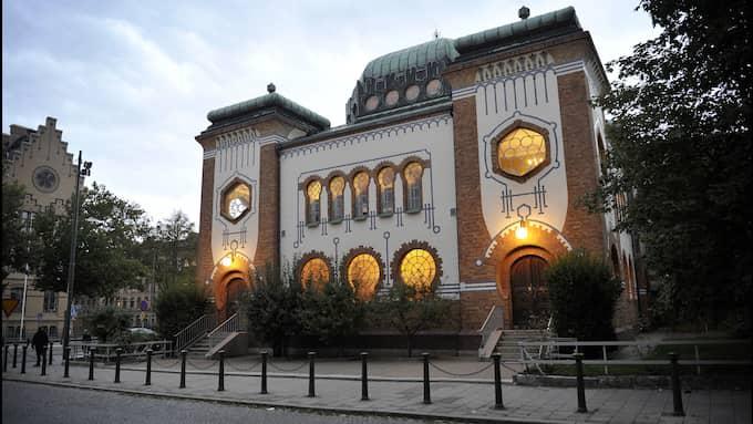 Judiska församlingen i Malmö har polisanmält ett nytt hot. Hotet inträffade vid lunchtid på tisdagen. Här syns synagogan i Malmö. Foto: LASSE SVENSSON