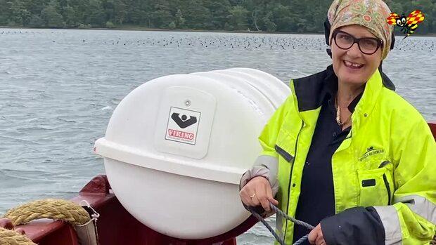 Lisbeth följde sin dröm – blev matros som 58-åring