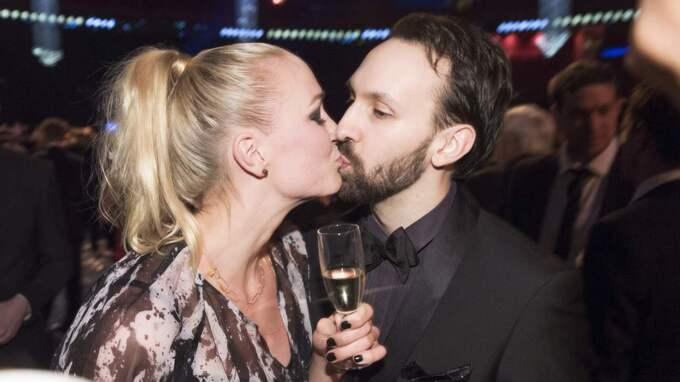 Sarah och pojkvännen Johan. Foto: Olle Sporrong