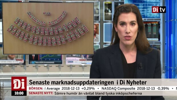 Di Nyheter 10:00 14 december - Stefan Löfven nedröstad
