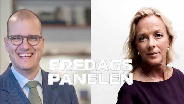 Fredagspanelen med Joakim Bornold och Anna Ekelund