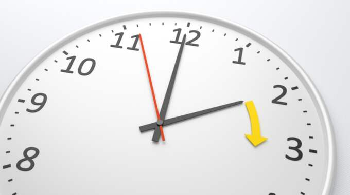 I helgen flyttar vi fram klockan med en timme. Foto: Markus Gann/Colourbox