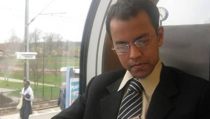 Syed Latif, 35, är på väg tillbaka till Sverige. Foto: Privat / PRIVAT