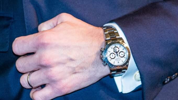 En Rolex Dayton i helguld. Klockan har ett nyprisvärde på 297 000 kronor. Foto: Pelle T Nilsson