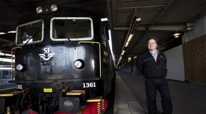 Torolf Jansson hade arbetat som lokförare i 28 prickfria år, men när det kom fram att han fått diagnosen Aspergers stängdes han av från sin tjänst. Foto: Louise Billgert