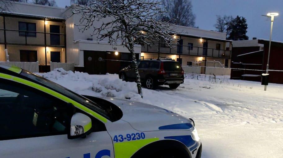 Det var i februari som polisen larmades till ett LSS-boende
