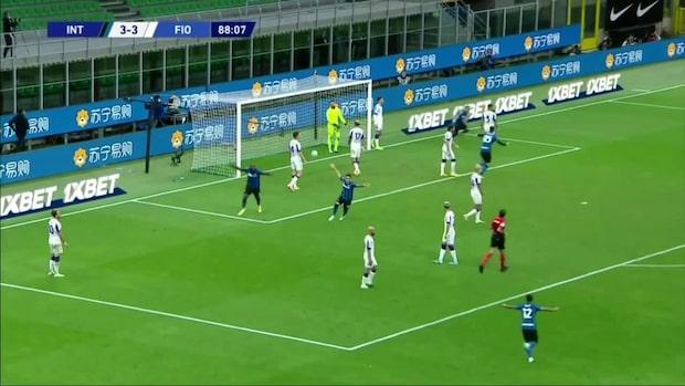 Inter avgör kaosmatchen – med minuter kvar