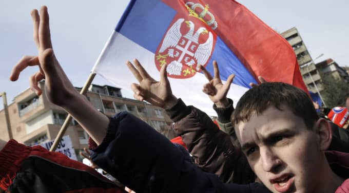 Enligt Wikileaks ska Carl Bildt ha kallat Vladimir Putin för en tjetnik, vilket kan syfta på den serbiska nationalistmilisen som uppstod i början av 1900-talet. Foto: Bela Szandelszky
