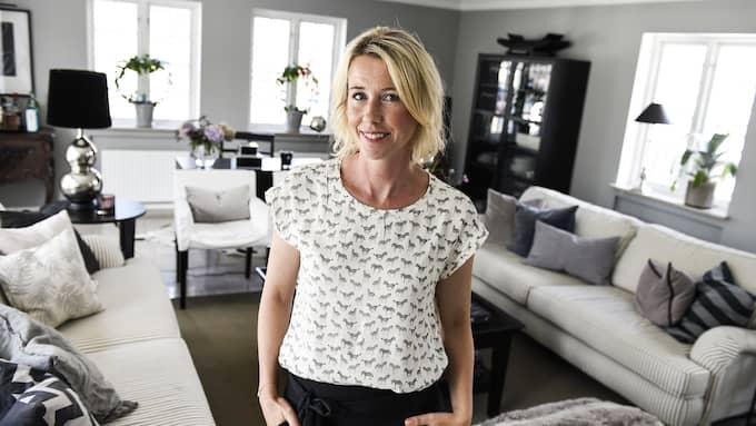 """I februari vann Jannice Wistrand titeln """"Årets inredningsbloggare"""" av modetidningen ELLE. I sin inredning inspirerat av feng shui strävar hon efter att efterlikna naturen. Foto: / Expressen/kvällsposten"""