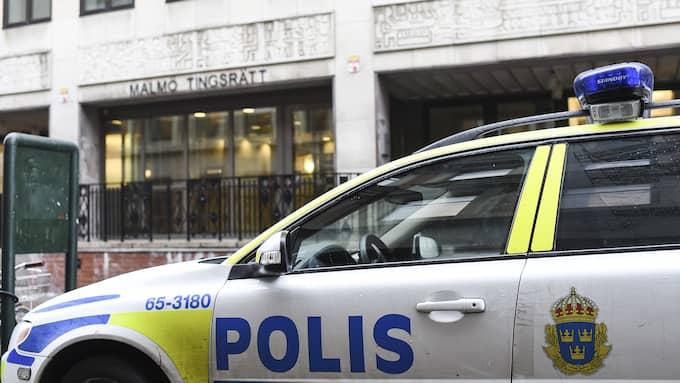 Mannen åtalas vid Malmö tingsrätt Foto: FOTOGRAF JENS CHRISTIAN