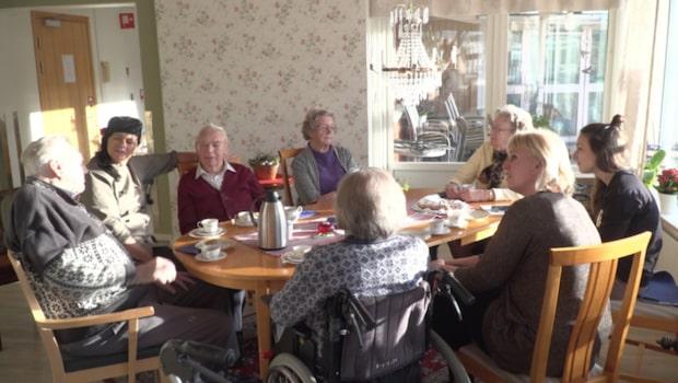Här bestämmer de äldre vad som ska ätas
