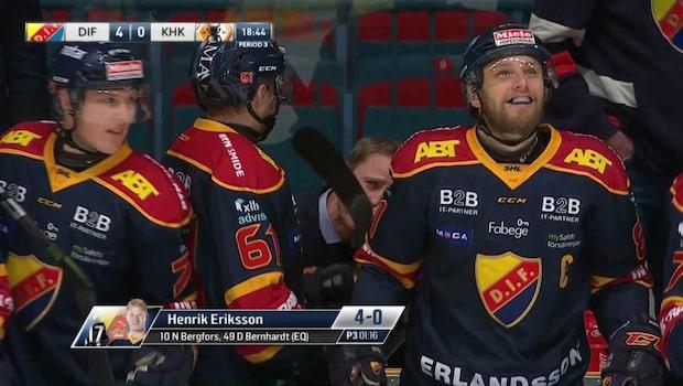 Dif krossade Karlskrona - vann med 7-0