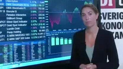 Marknadskoll: Essity leder på Stockholmsbörsen
