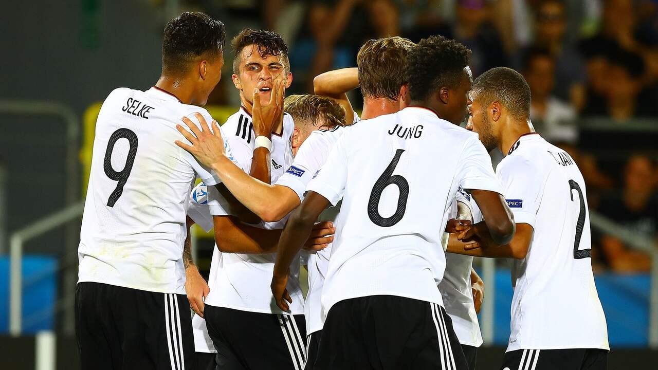 Tyskland körde över Danmark i U21-EM